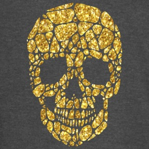 Golden skull VIP cool art - Vintage Sport T-Shirt