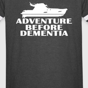 Yacht Adventure Before Dementia - Vintage Sport T-Shirt