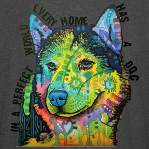 Siberian Huskie In Every Home - Vintage Sport T-Shirt