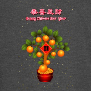 chinese_new_year_with_orange - Vintage Sport T-Shirt