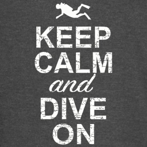 Dive bar - Keep Calm And Dive On - Vintage Sport T-Shirt