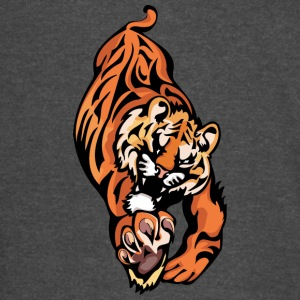 tiger_trying_to_reach_hunt - Vintage Sport T-Shirt