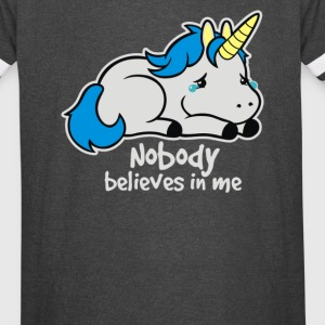 Sad unicorn - Vintage Sport T-Shirt