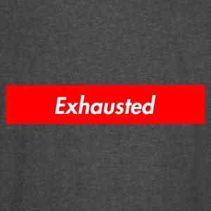 exhausted supreme logo - Vintage Sport T-Shirt