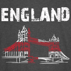 Nation-Design England Tower Bridge - Vintage Sport T-Shirt