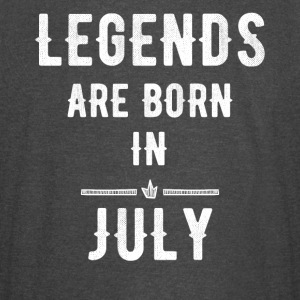 Legends are born in July - Vintage Sport T-Shirt