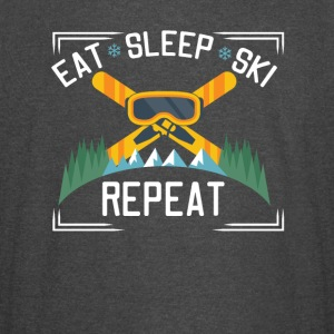Eat Sleep Ski Repeat - Vintage Sport T-Shirt
