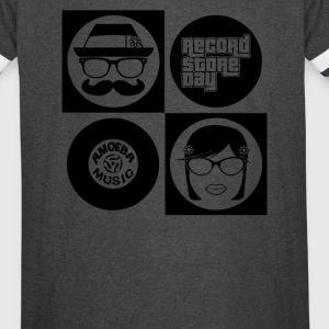 Hipsters Record - Vintage Sport T-Shirt