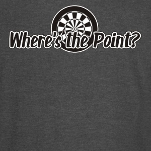 Where's the Point Darts Shirt - Vintage Sport T-Shirt