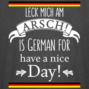Funny German Translations Leck mich am Arsch! - Vintage Sport T-Shirt
