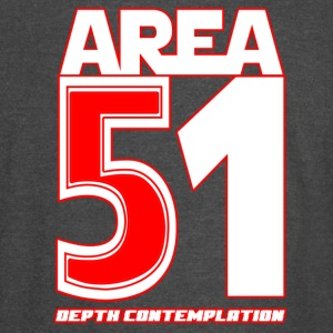 Area 51 T-Shirt Depth Contemplation - Vintage Sport T-Shirt