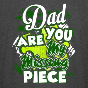 Dad You Are My Missing Piece Shirt - Vintage Sport T-Shirt