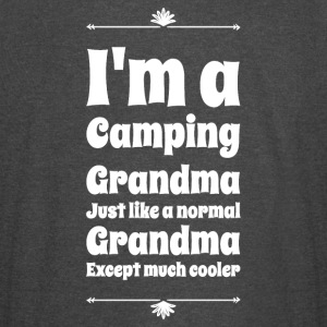 I'm a camping grandma just like a normal grandma e - Vintage Sport T-Shirt