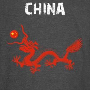 Nation-Design China Dragon - Vintage Sport T-Shirt