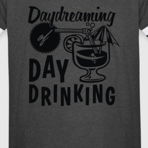 Cool Day Dreaming Day Drinking - T-shirt rétro pour hommes