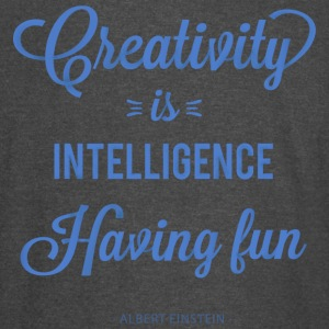 Creativity is intelligence |Limited Edition - Vintage Sport T-Shirt