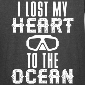 Scuba diving - Lost HEART to the OCEAN Scuba Div - Vintage Sport T-Shirt