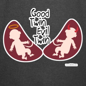 Good Evil Twin Saying - Vintage Sport T-Shirt