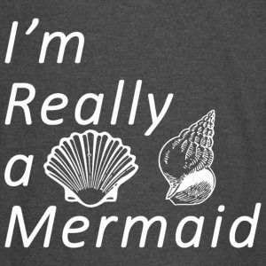 Sexy anime girls - Sassy | Im Really A Mermaid - Vintage Sport T-Shirt
