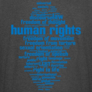 human rights - Vintage Sport T-Shirt