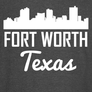 Fort Worth Texas Skyline - Vintage Sport T-Shirt