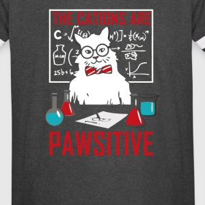 Chemistry Cat The Cation Ions Are Pawsitive - Vintage Sport T-Shirt