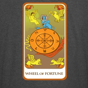 Wheel Of Fortune Tarot Card Tee Shirt - Vintage Sport T-Shirt