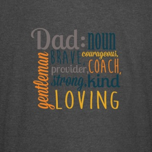 Definition of DAD - Father's Day Graphic T-shirt - Vintage Sport T-Shirt