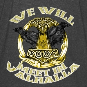 We will meet in Valhalla - Vintage Sport T-Shirt
