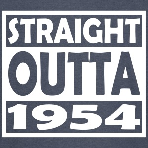 63rd Birthday T Shirt Straight Outta 1954 - Vintage Sport T-Shirt