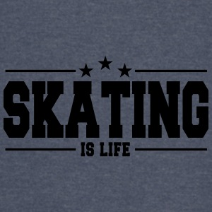 Skating is life 1 - Vintage Sport T-Shirt