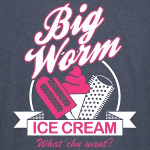 BIG WORM ICE CREAM - Vintage Sport T-Shirt