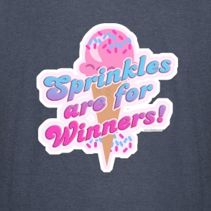 Sprinkles Are For Winner! - Vintage Sport T-Shirt