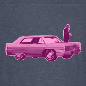 Shorty Cadillac Purple Pink - Vintage Sport T-Shirt