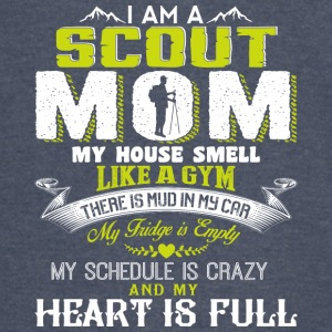 I Am A Scout Mom My House Smell Like A Gym T Shirt - Vintage Sport T-Shirt