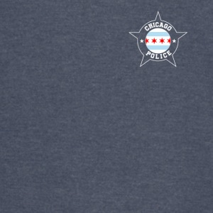Chicago Police T Shirt - Chicago Flag - Vintage Sport T-Shirt