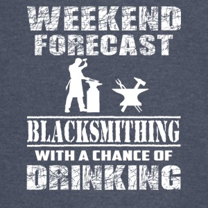 Blacksmithing With A Chance Of Drinking T Shirt - Vintage Sport T-Shirt