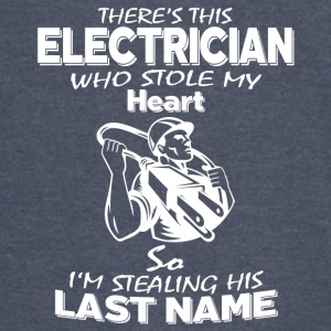 This Electrician Who Stole My Heart T Shirt - Vintage Sport T-Shirt