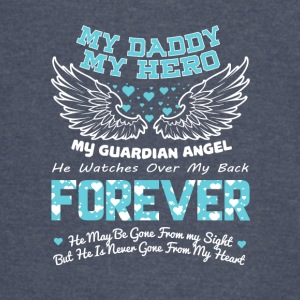 My Dad My Hero My Guardian Angel T Shirt - Vintage Sport T-Shirt