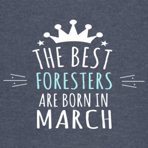 Best FORESTERS are born in march - Vintage Sport T-Shirt