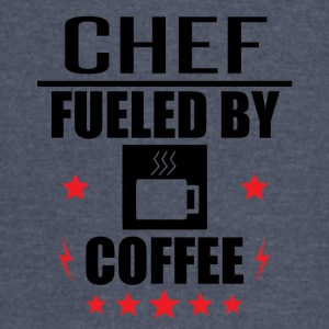 Chef Fueled By Coffee - Vintage Sport T-Shirt