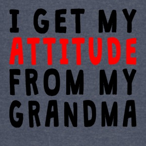 I Get My Attitude From My Grandma - Vintage Sport T-Shirt