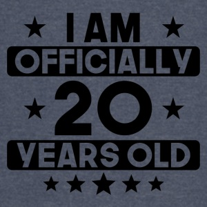 I Am Officially 20 Years Old 20th Birthday - Vintage Sport T-Shirt