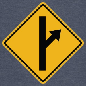 MGTOW Road Sign - Vintage Sport T-Shirt