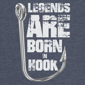Legends Are Born in HOOK - Vintage Sport T-Shirt