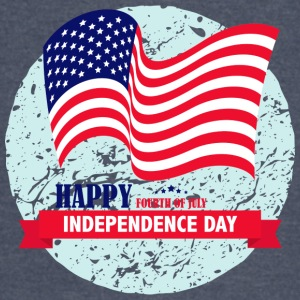 USA Happy Independence Day 4 July - Vintage Sport T-Shirt