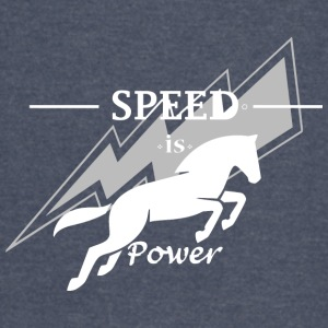 Speed is horse power - Vintage Sport T-Shirt