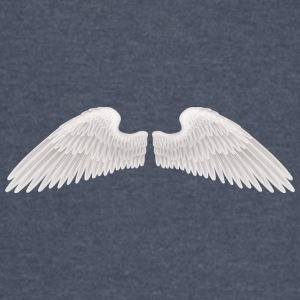 angel wings angelic wings vector - Vintage Sport T-Shirt