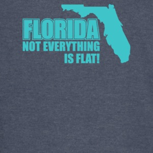 Florida Not Everything Is Flat - Vintage Sport T-Shirt