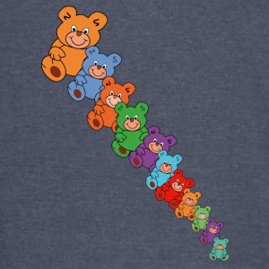 colorful teddy bears - Vintage Sport T-Shirt